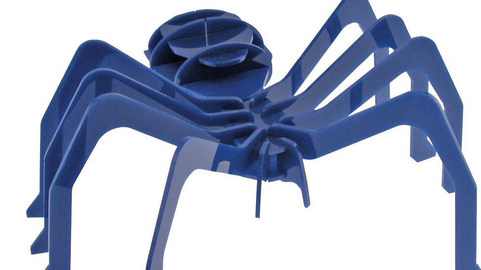 Laser Cut Acrylic Spider Model