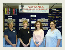 The employees of Catania.
