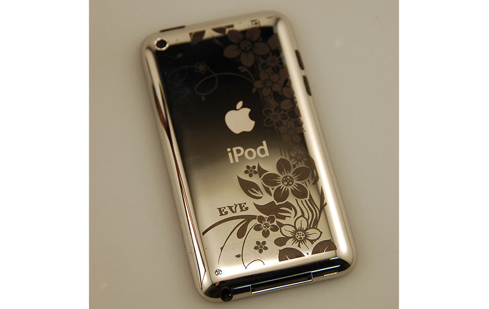 Metal iPod Marked with CerMark