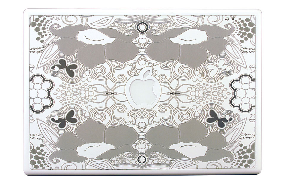 Florid Graphics Engraved on Macbook