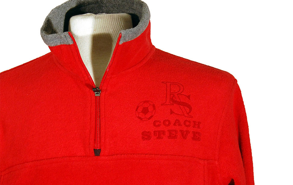 Laser Engraved Coach Fleece Jacket