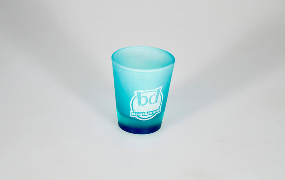 Shot Glass Engraved with Laser