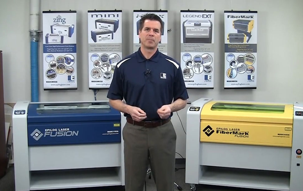 FiberMark 24 and FiberMark Fusion Metal Mark Demonstration Video