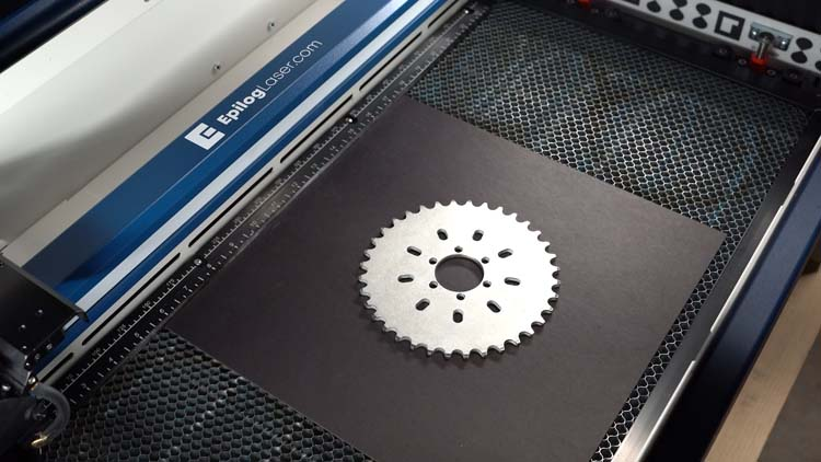 black matboard for chainring gear