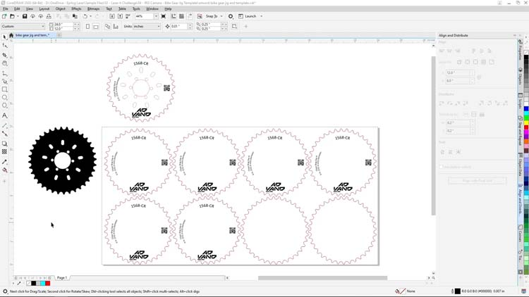 coreldraw template final file
