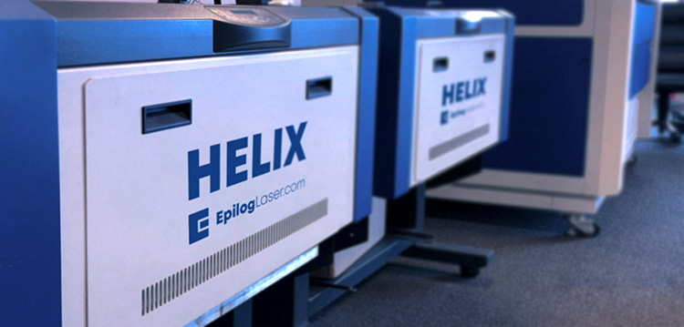 Helix and Fusion Pro laser machines