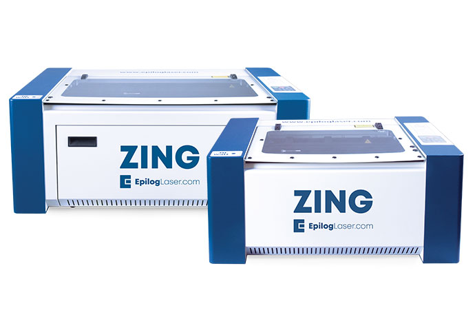 Epilog Zing Laser Series engraver and cutter machines