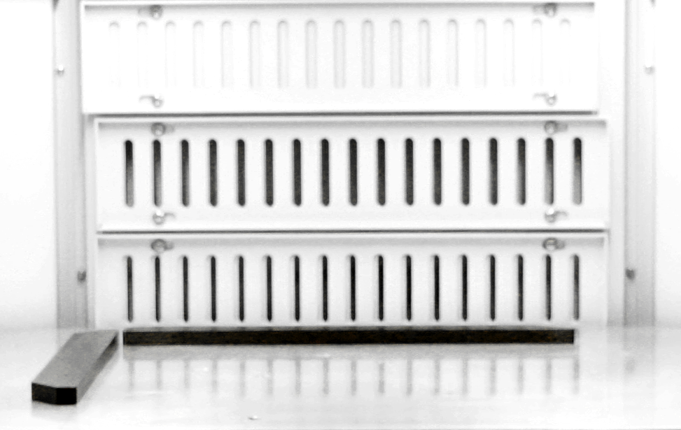 G2 galvo changeable louvered vents.